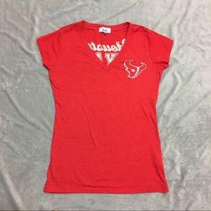 Houston Texans Touch by Alyssa Shirt SZ SM